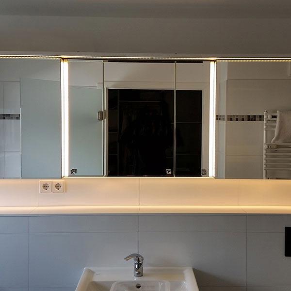 Einbaumöbel Badezimmer